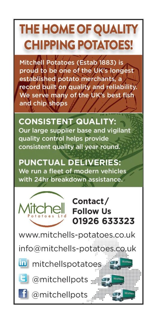 Mitchells Advert page